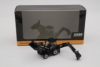 CASE Construction Vehicles 590 Super R Mixed Pala Models Toys Diecast 1:87 Scale
