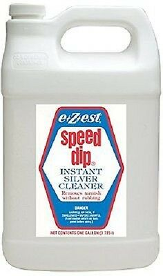 Coin Gold Jewelry Instant Cleaner EZ Est Dip Jeweluster SPEEDIP 1 Gallon Free US
