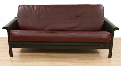 Bordo Faux Leather Futon Slipcover Easy Fit FREE SHIPPING (BRAND NEW)