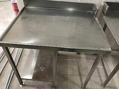 Stainless steel bench top