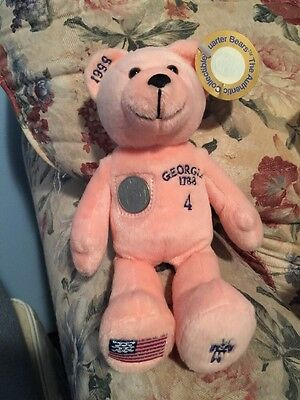(Georgia) The Authentic Collectible Quarter Bear #4 in Series 1999