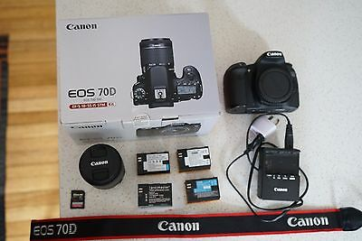 Canon 70d (with 18-55mm Lens) Kit!