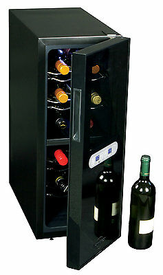 12 Bottle Dual Zone Freestanding Wine Cooler Koolatron FREE SHIPPING