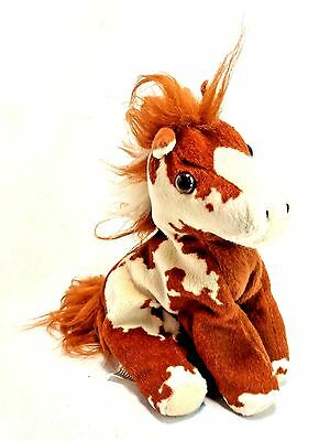 "Breyer 2004 #10302 Pony Horse Pinto Hidalgo Mustang Indian Paint 6"" Plush EUC"