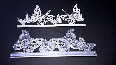 Butterfly Border Metal Cutting Die Stencil Scrapbooking Album Embossing Craft
