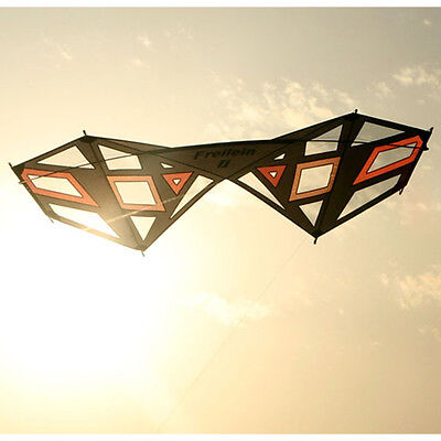 1.92㎡ Quad Line Stunt Kite Strong Wind Plays Kite Sports Fun Gift Outdoors