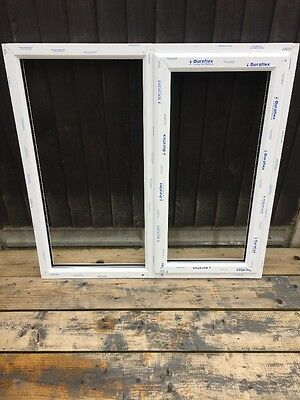 White UPVC Window Frame 1218x1187