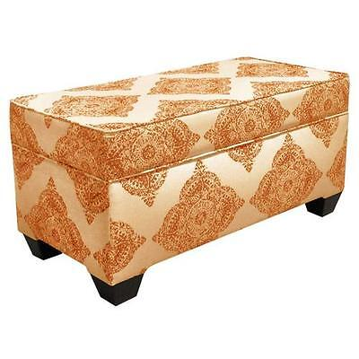 Polyester Upholstered Storage Bedroom Bench Skyline Furniture FREE SHIPPING