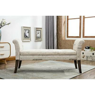 Upholstered Storage Bedroom Bench Best Quality Furniture FREE SHIPPING