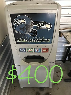 Maytag Skybox - Home soda vending machine - Seattle Seahawks Logo - SALE!!!