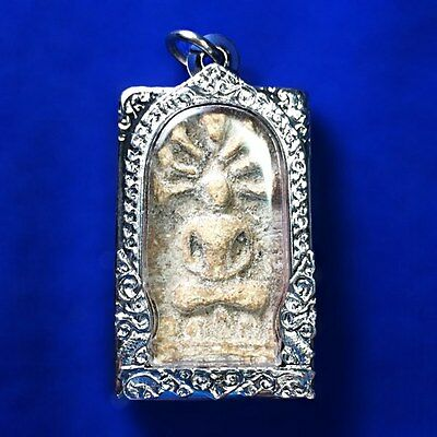 Antique Rare Phra Somdej Naga Prok Wat Phra Kaew Thai buddha amulet Collection