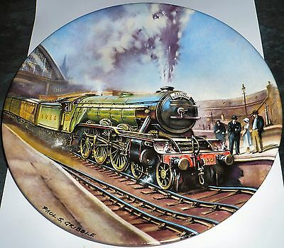 1988 The Flying Scotsman Limited Edition Plate By Davenport Pottery COLLECTABLE