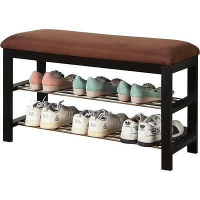 Fabric Storage Entryway Bench Andover Mills FREE SHIPPING (BRAND NEW)