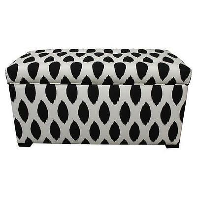 Angela Fabric Storage Bedroom Bench Sole Designs FREE SHIPPING (BRAND NEW)