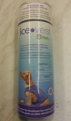 DOG ICE VEST - BRAND NEW - HALF PRICE for very small Dogs.