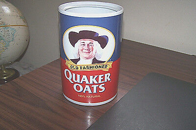 Quaker Oats 120th Anniversary Ceramic Canister, 1997, Limited Edition - Mint.