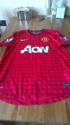 Manchester United Football Shirt 2012 2013