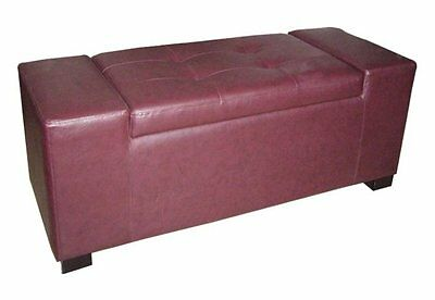 Faux Leather Storage Bench ORE Furniture FREE SHIPPING (BRAND NEW)