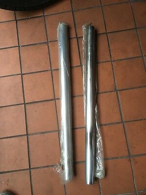 Harley 49-77 41mm 8 6 Over Fork Tubes Wideglide Chopper Panhead Shovelhead