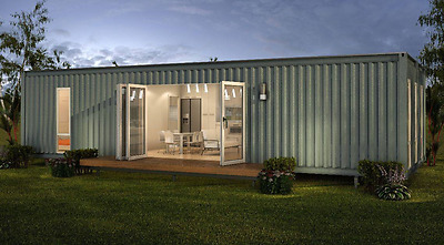 40ft Portable Container Home- Room For Two