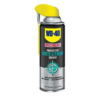 WD-40 Specialist White Lithium Grease Spray - Metal on Metal Lubricant and