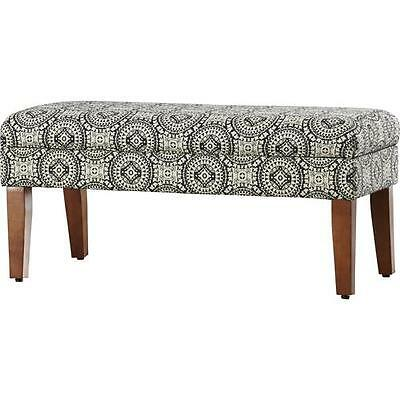 Rafia Wood Storage Bedroom Bench Bungalow Rose FREE SHIPPING (BRAND NEW)