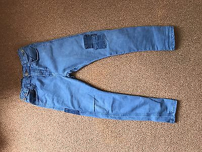 Zara Boys Skinny Jeans- Blue Colour Size 8 Years Excellent Condition