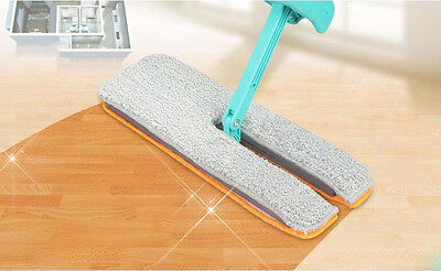 NEW Lazy Double-side Free Hand Washing Floor Wipe Flat Mop Household