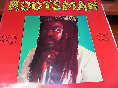 Rootsman - We Rocking All Night    -  '12 Vinyl Record