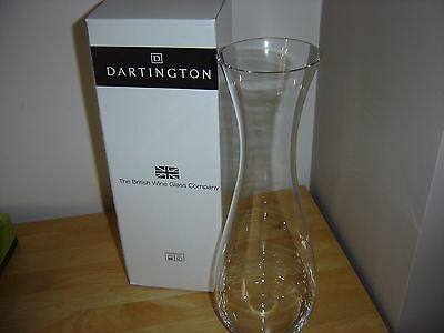Dartington Crystal wine carafe x2 BNIB