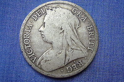 1897  Queen Victoria  Halfcrown,