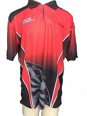 Red And Black Dart Shirt