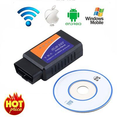 Scaner DIAGNOSIS ELM327 BLUETOOTH WIFI OBD2 OBDII Pa Android SAMSUNG IOS Windows