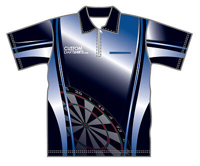 Navy Blue Dart Shirt