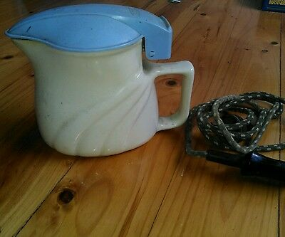 Vintage - Jug-Kettle With Plug And Element- Retro-Hecla