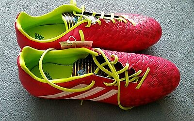 Adidas Predator Absolato LX FG Men's 11.5 Bright Berry Pink Soccer Shoes Cleats