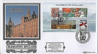 """GB Stamps 2007 """"Glorious England"""" sg MSEN50 Ltd Edition Benham First Day Cover"""
