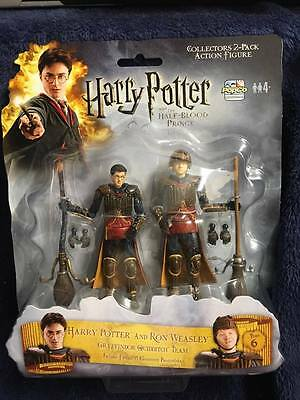 "Popco Harry Potter 3.75"" Figures HARRY POTTER & RON WEASLEY - Half Blood Prince"