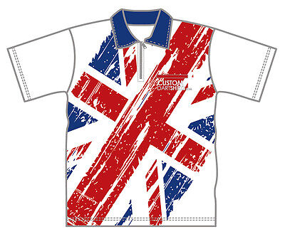 White Union Jack Dart Shirt