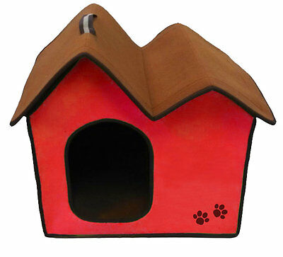 Zipper Double Roof Dog House Penn Plax FREE SHIPPING (BRAND NEW)