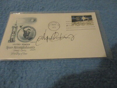 U.s. Space Accomplishments - 1971 - 1St Day Cover - Signed
