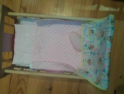 Solid Wood Doll Rocking Cradle from John Lewis