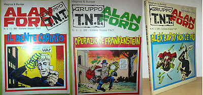ALAN FORD Serie TNT n. 2-3-6