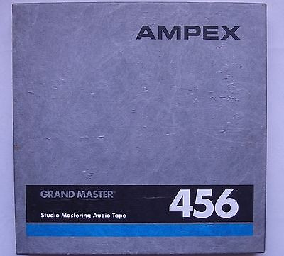 "AMPEX 456 Reel To Reel 1/2"" Inch TAPE Pro Studio TASCAM Used HARD TO FIND!!"
