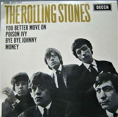 """The Rolling Stones - You Better Move On Ep -  4 Tracks 7"""" - Decca  - 1964 Rare"""