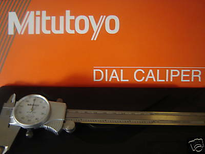"New! 6"" Mitutoyo Old#505-675  New#505-742 Dial Caliper W/case"