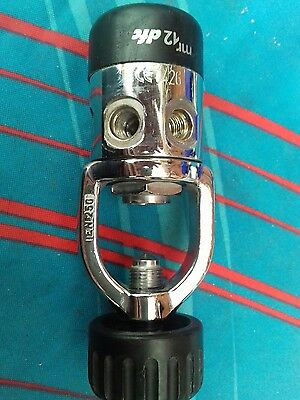 Mares MR12 DFC A Clamp 1st Stage Regulator Scuba Diving a