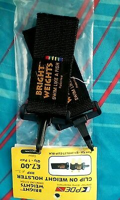 New Bright Weights  Webbing Clip on Holster SCUBA DIVING  Drysuit b