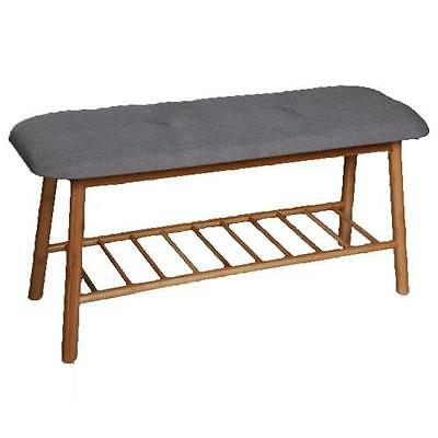 Claro Caldwell Upholstered Storage Entryway Bench Meubles Nola FREE SHIPPING