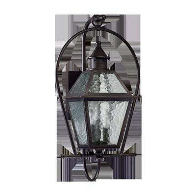 French Quarter 3-Light Outdoor Wall lantern Quorum FREE SHIPPING (BRAND NEW)